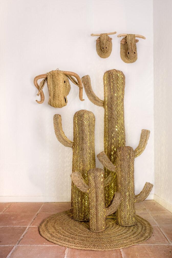 Cactus con luz de led