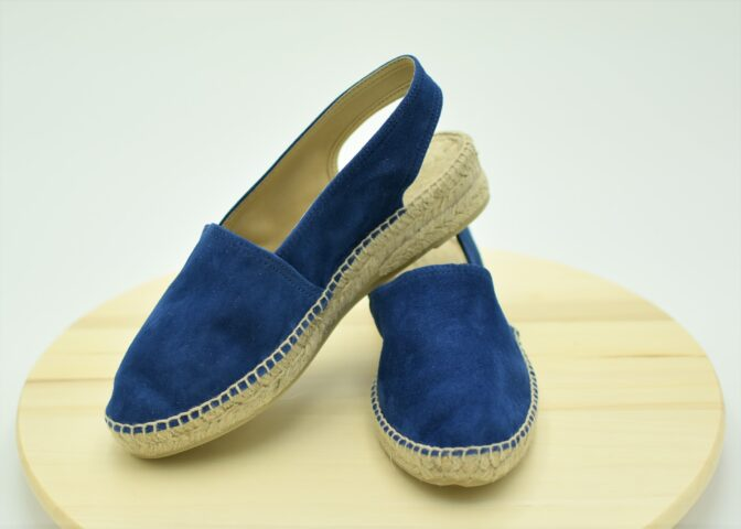 Alpargata plana color Azul Marino